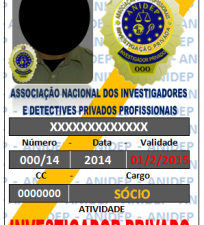 Identificação do IP Profissional