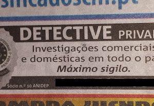 Anuncio no jornal