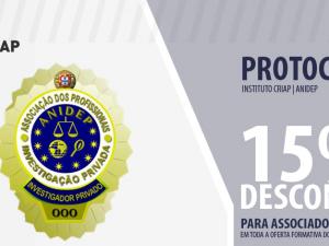 Instituto CRIAP, 15% desconto para associados da ANIDEP!