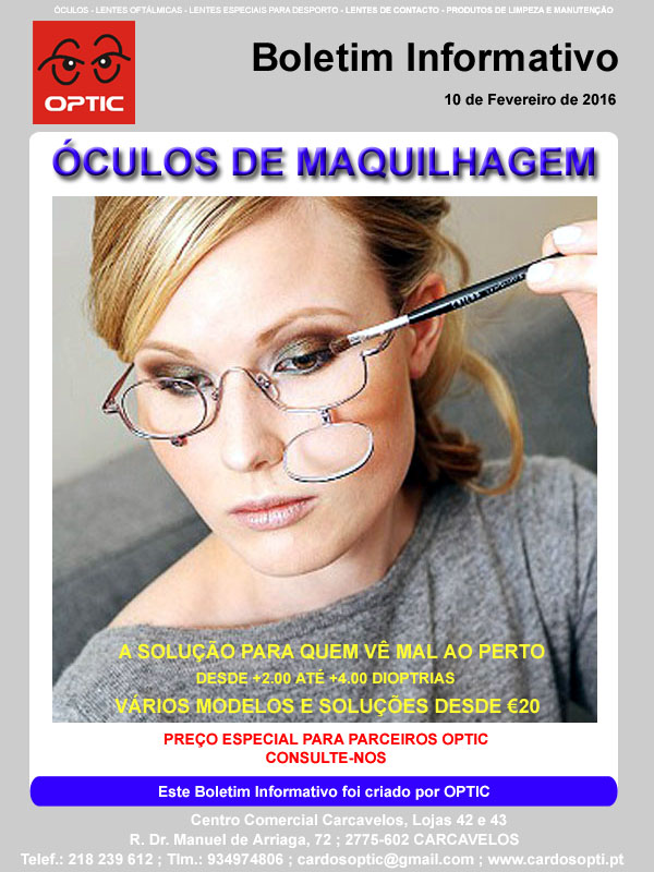 Newsletter 10Fev16 OCULOS MAQUILHAGEM copy