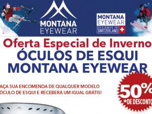 OFERTA ESPECIAL DE INVERNO – ÓCULOS DE ESQUI